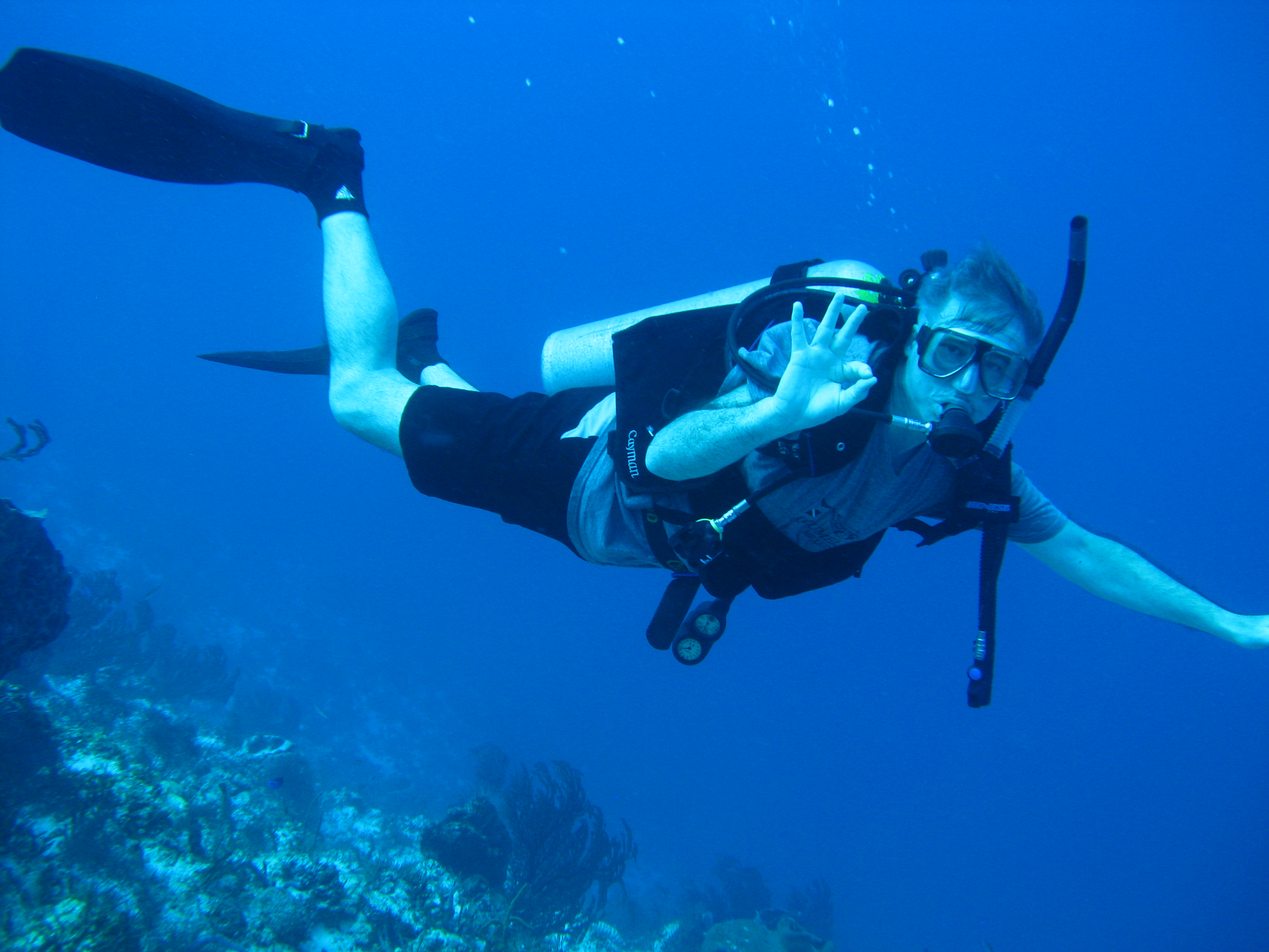 100 feet in Cozumel