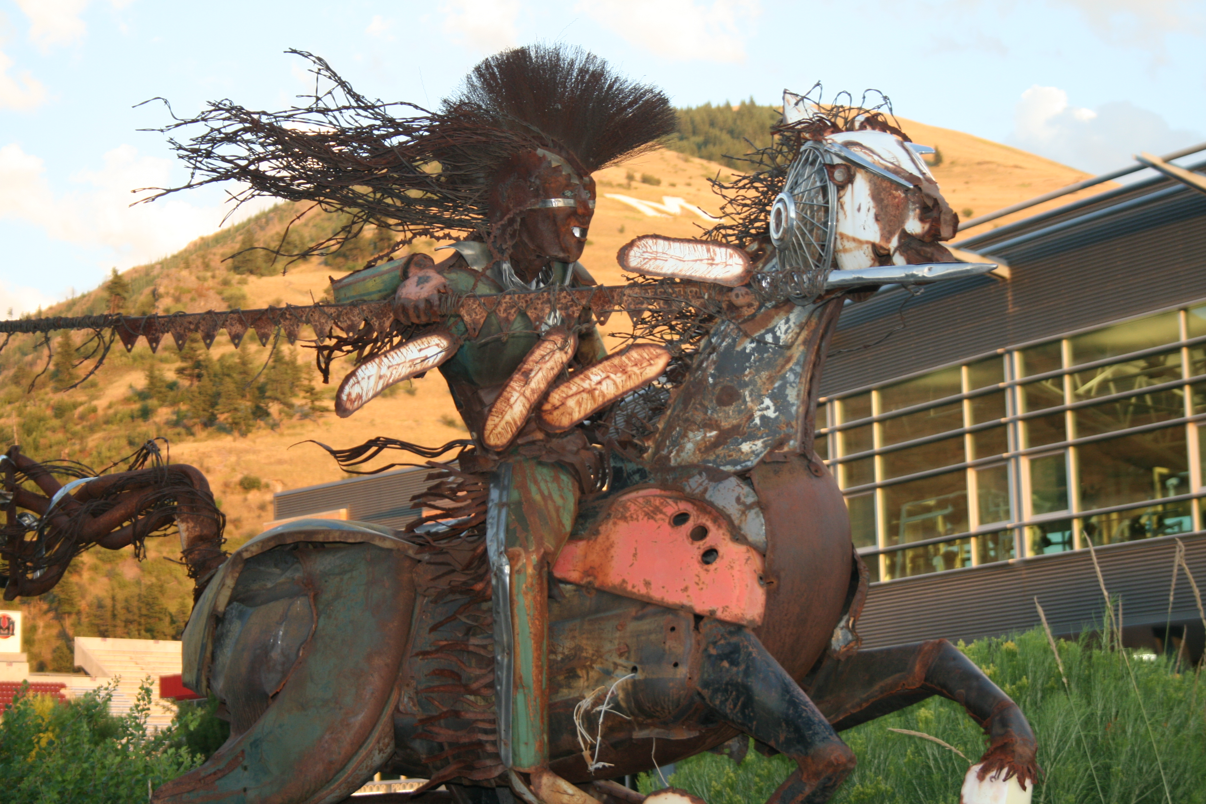 Native American art in Missoula